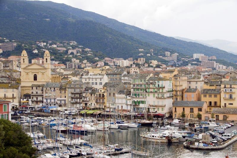 Download Old Port Bastia Corsica St. John Baptist Church Stock Image - Image: 14606593