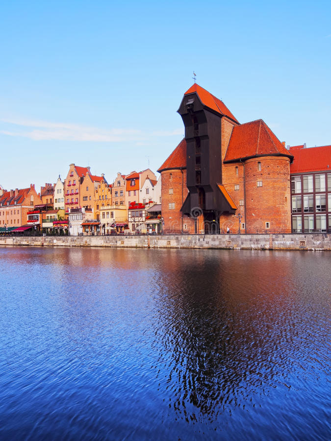 Download Old Port Crane In Gdansk, Poland Editorial Photography - Image: 33132862