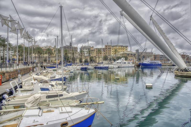 Old Port Genoa royalty free stock image