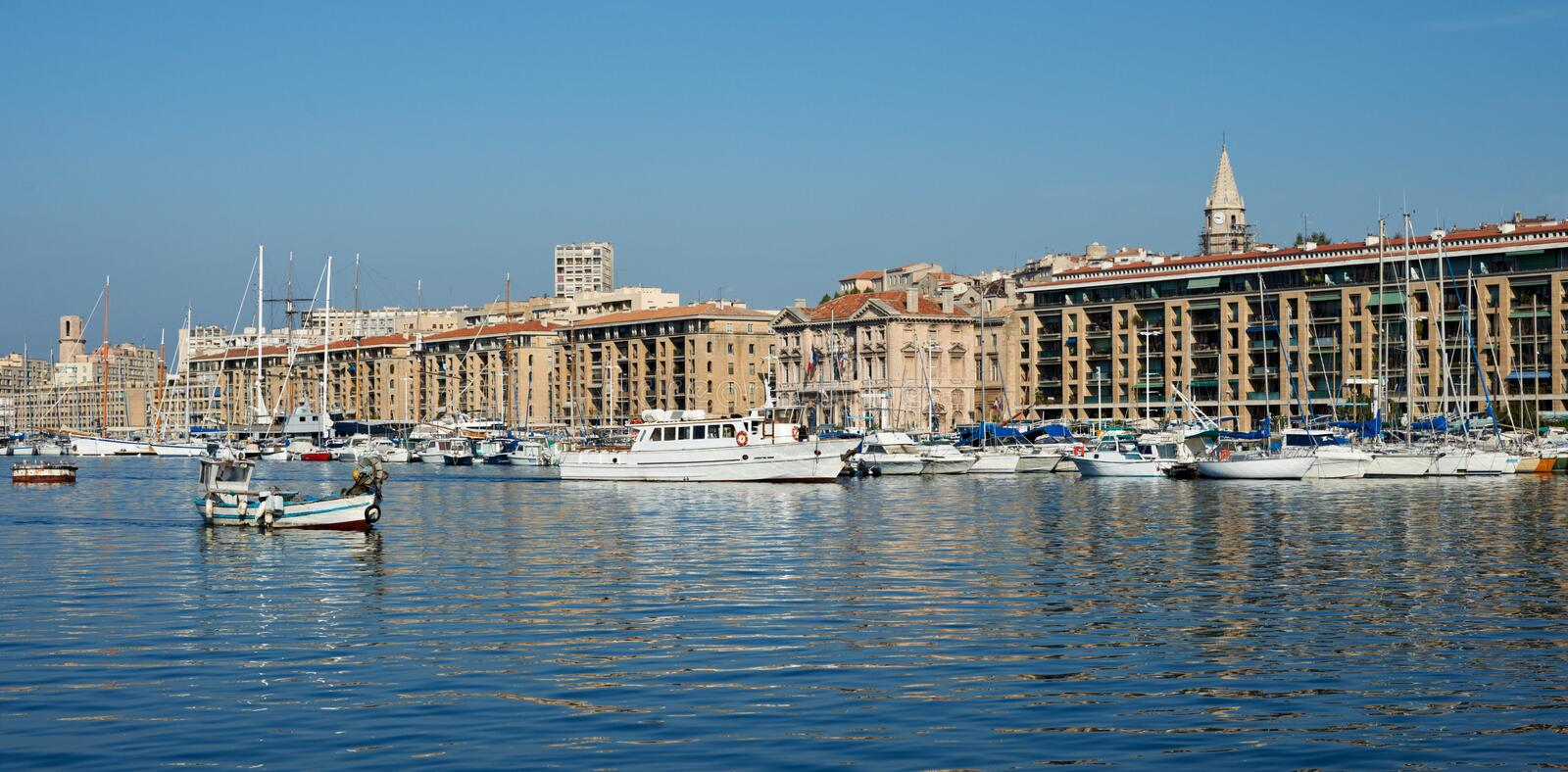 Download Old port of Marseille stock photo. Image of paca, mediterranean - 16472752
