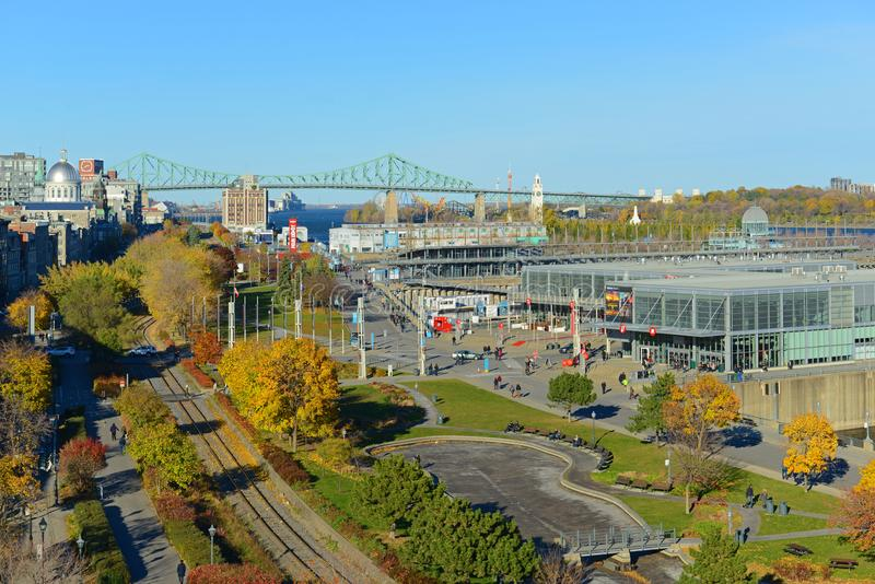 Old Port of Montreal, Canada royalty free stock image
