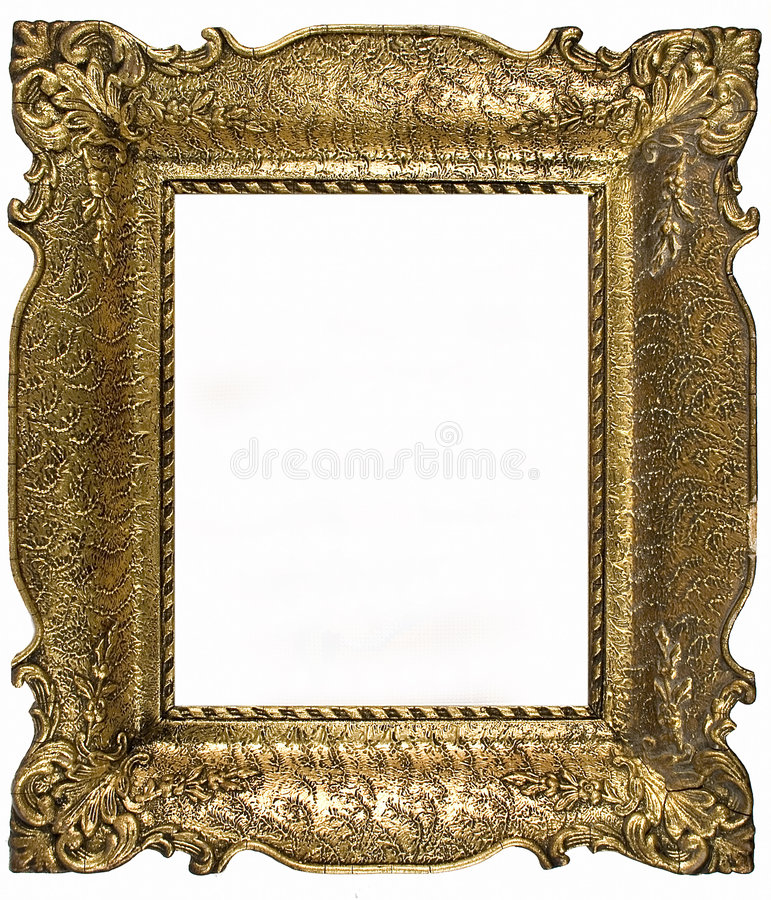 Old portrait frame royalty free stock image