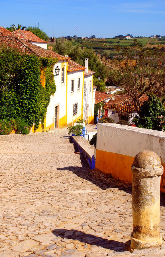 Download Old portugal street stock photo. Image of ornamental - 25424874