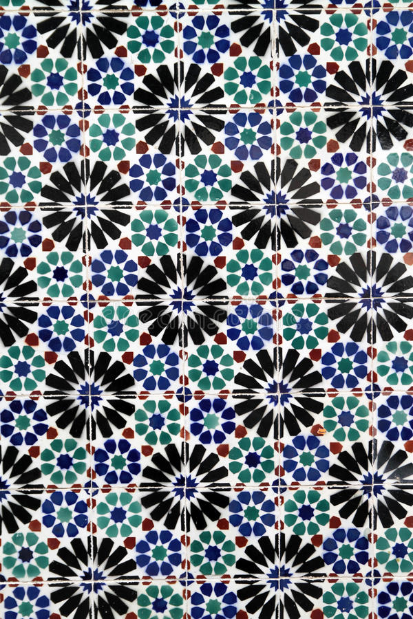 Download Old Portuguese tiles stock image. Image of mosaic, detail - 20291969