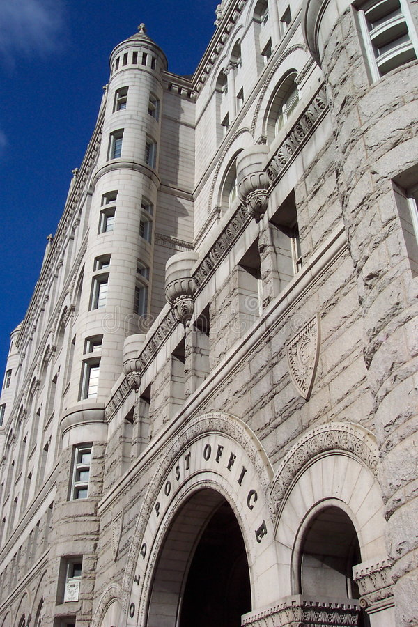 Download The Old Post Office stock photo. Image of stone, office - 97242