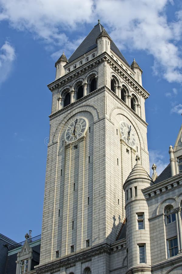 Free Old Post Office Clock Tower Stock Photography - 20947302