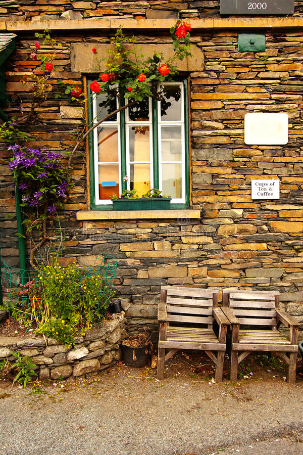 Download Old Post Office In Troutbeck Stock Image - Image of country, hard: 15510345