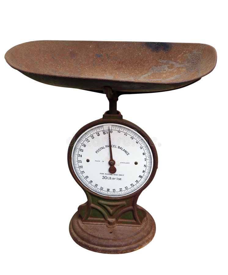 Old Postage Scales stock images