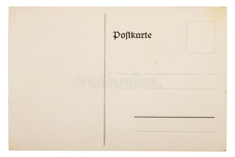 Download Old postcard stock photo. Image of mail, backside, beige - 23531022