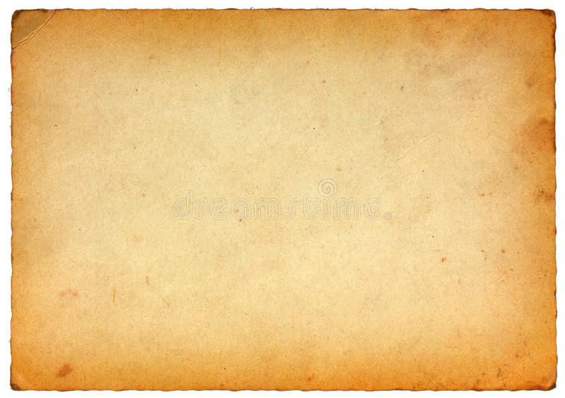 Old Postcard Texture Stock Image Of Vintage Paper
