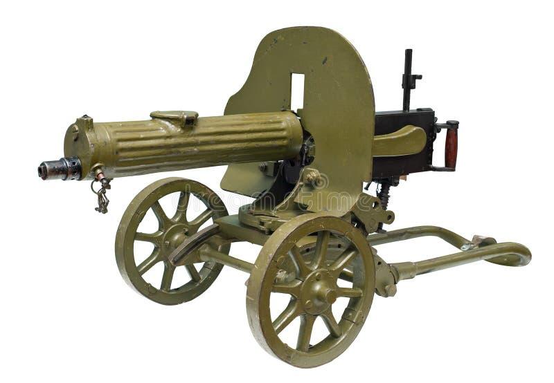 Machine Gun In Ww1 Clipart