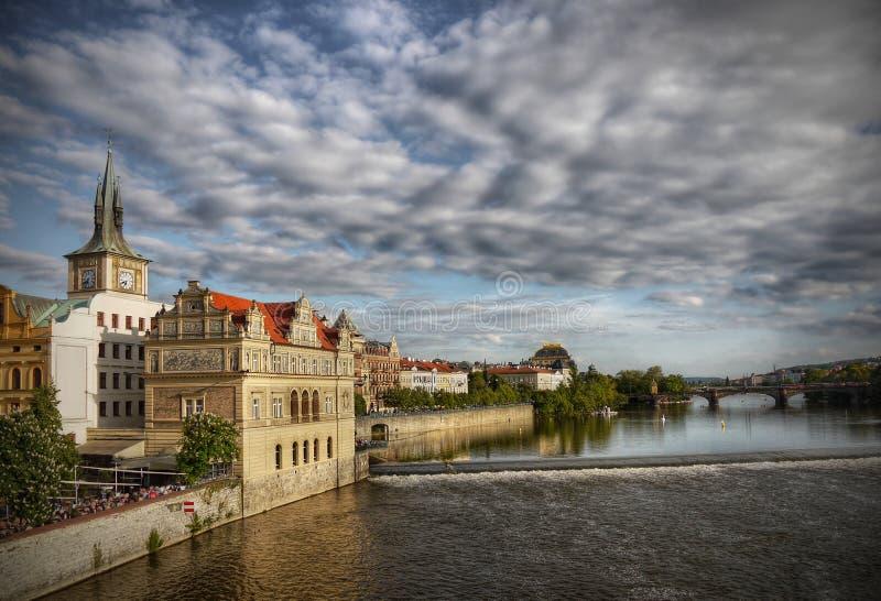 Old Prague Landmark Heritage UNESCO Cityscape royalty free stock image