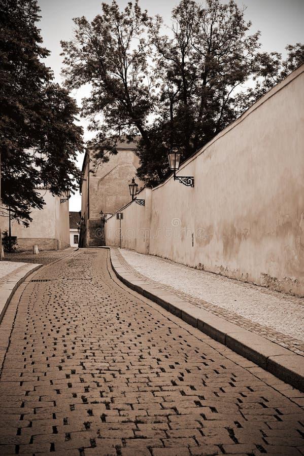 Old Prague street royalty free stock image