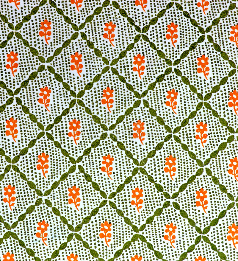 Free Old Printed Pattern Stock Photography - 572092
