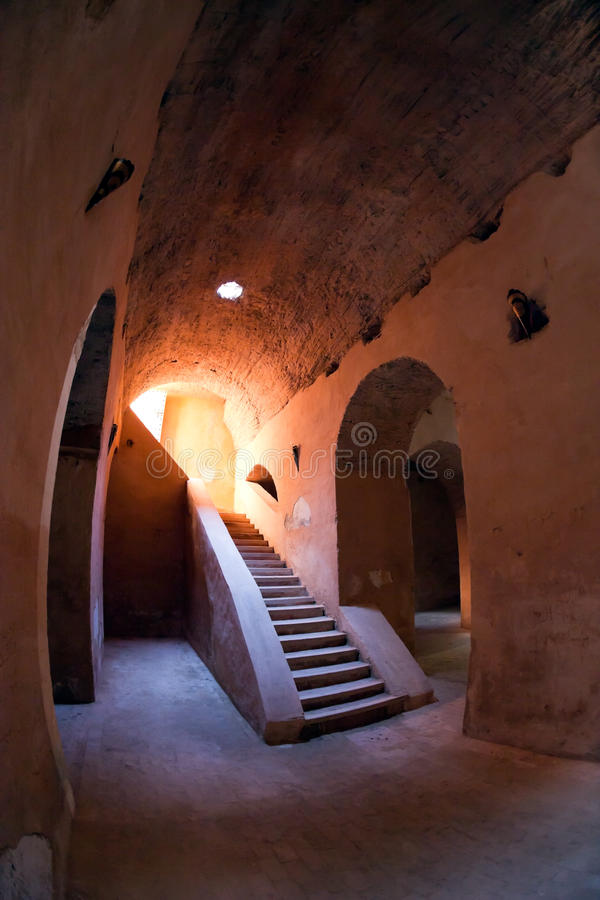 Download Old prison Meknes stock photo. Image of abandoned, stairs - 18692086