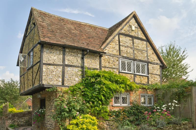 The Old Prison, Shere village, Surrey royalty free stock photos