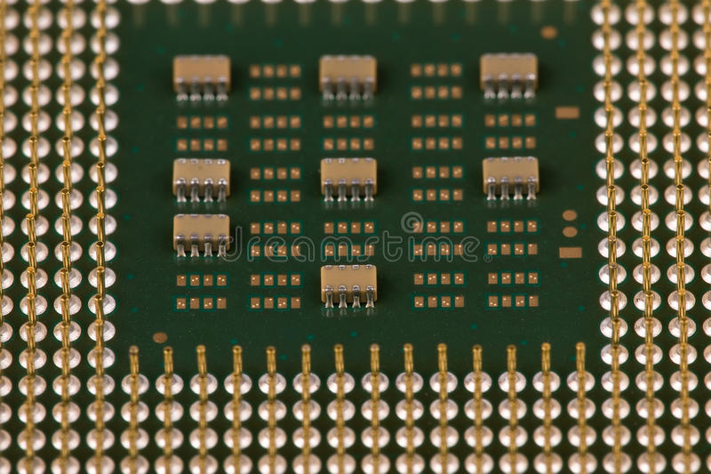 The Old Processor Stock Photos