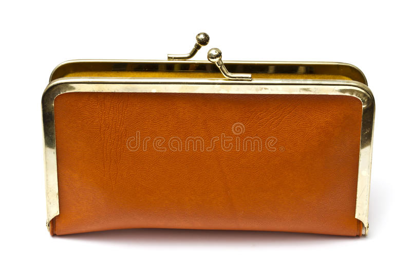 Download Old purse stock image. Image of black, blank, pocket - 18220059