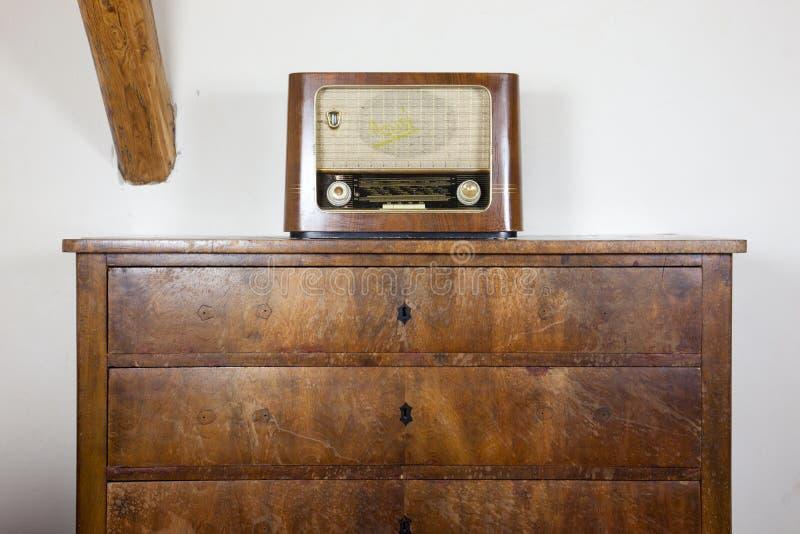 Old radio stock photography