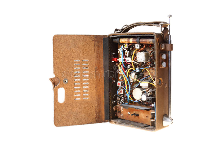 Download Old Radio stock image. Image of equipment, capacitor - 23495461