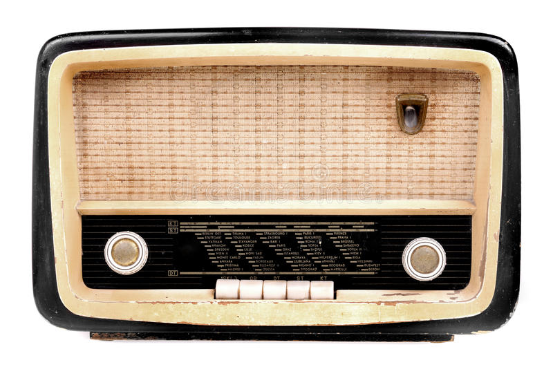 Download Old radio stock photo. Image of tuner, grid, antique, wave - 9560434
