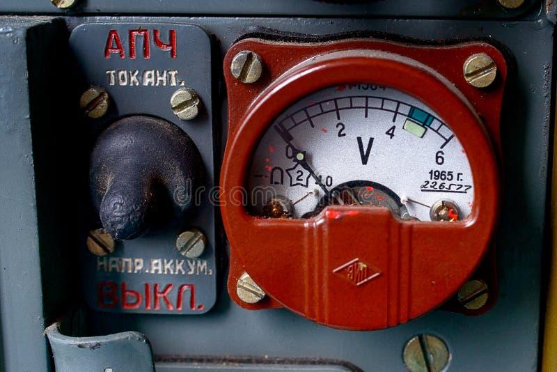 Old Radio R-105 Stock Photos