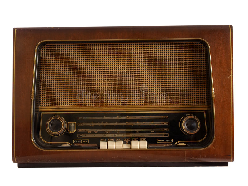 old radio retro στοκ εικόνα με δικαίωμα ελεύθερης χρήσης