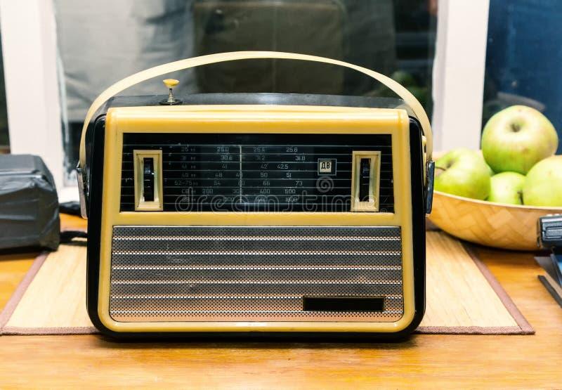 Old radio, retro, vintage royalty free stock photo