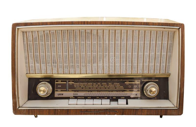 Old radio set royalty free stock photos