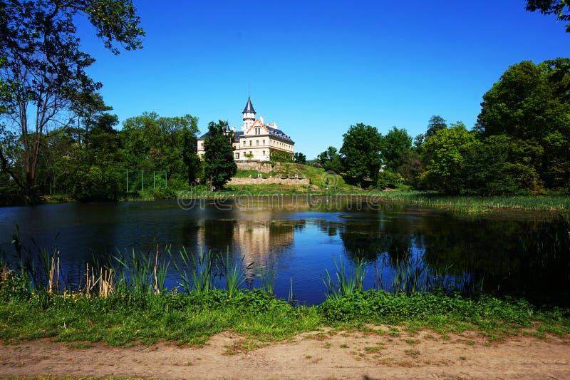old Radun castle in the czech republic stock photos