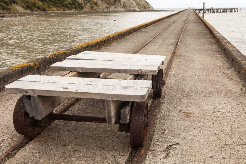 Old rail trolley