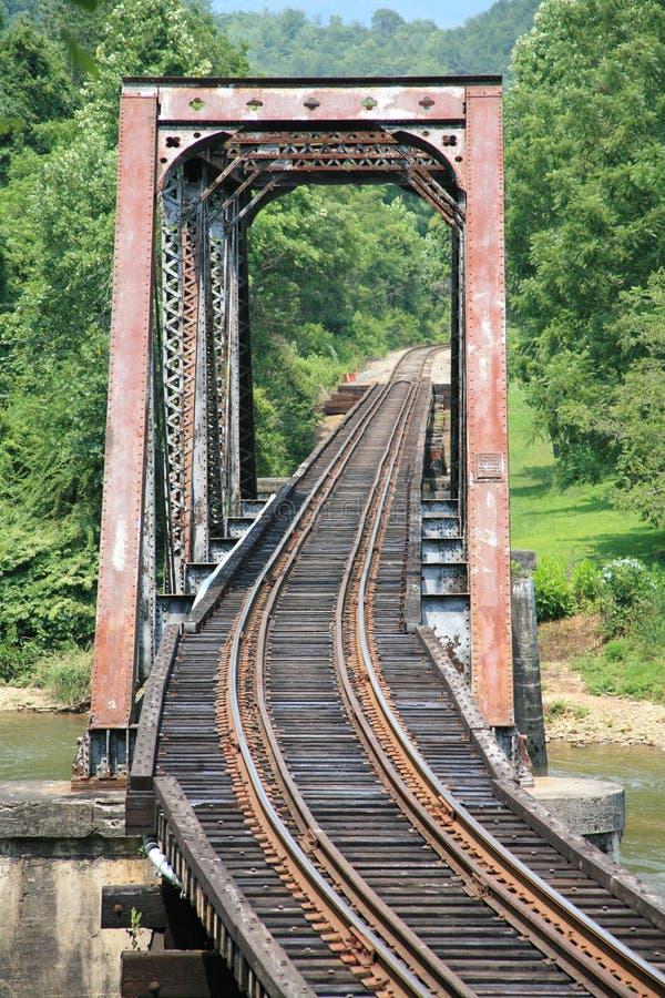 Old Railroad Bridge stock photo