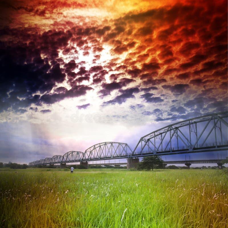 Free Old Railway Bridge Royalty Free Stock Photo - 31290645