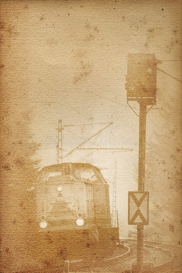 Free Old Railway Paper Royalty Free Stock Photography - 7141817