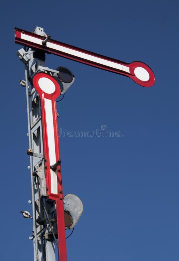 Free Old Railway Semaphore Stock Photography - 25975982