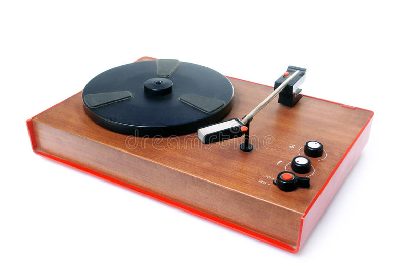Download Old record player stock photo. Image of isolated, equipment - 14140322
