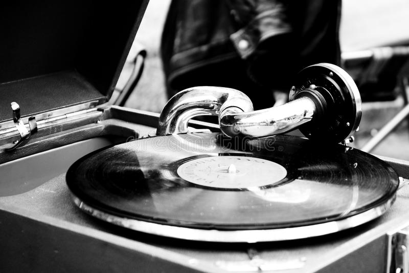Download Old record player stock photo. Image of player, disk - 22994994