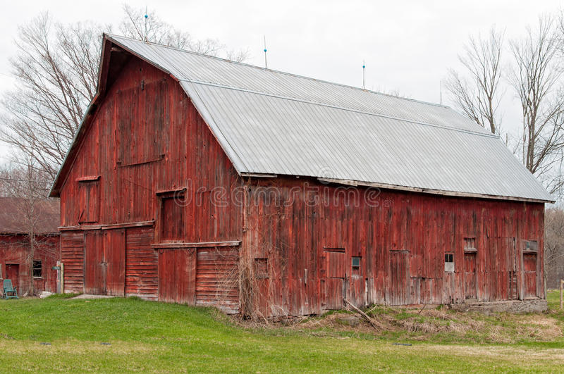 Old Red Barn Stock Photo Image Of Wooden Spring