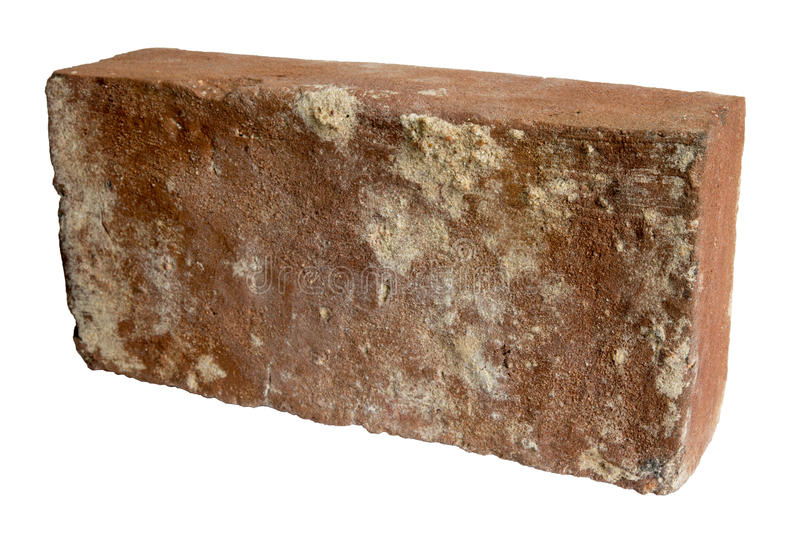 Download Old Red Brick Isolated Stock Image Of Ancient