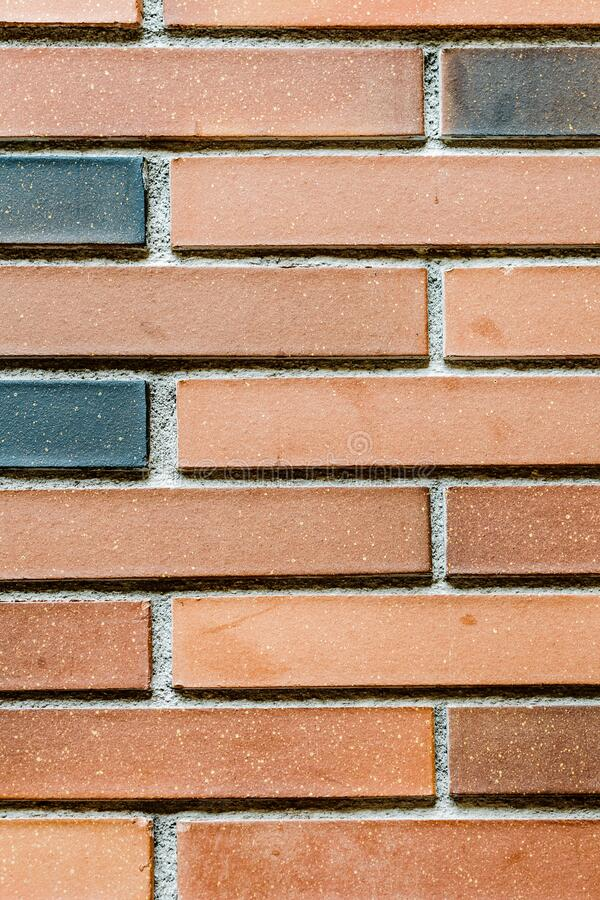 Old red brick wall. Background royalty free stock images
