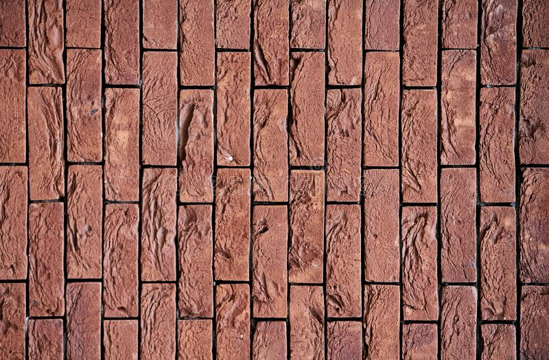 Old red brick wall texture background.  royalty free stock photography