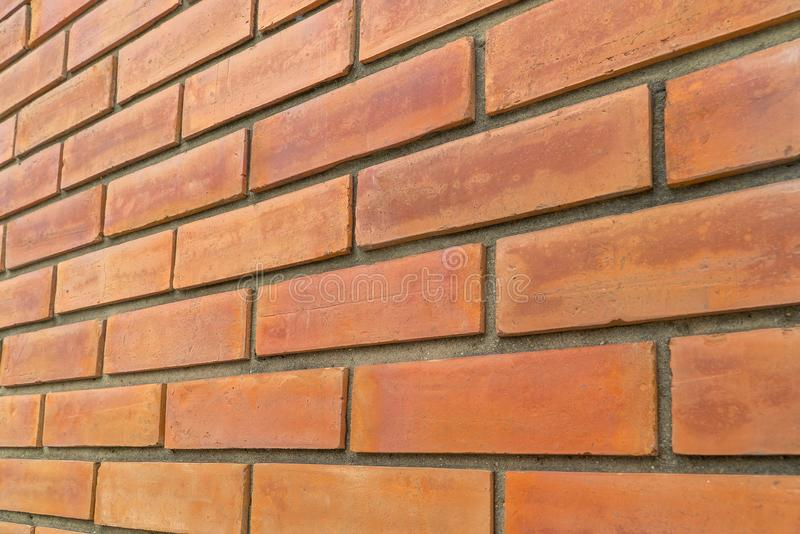 Old red brown brick wall texture grunge background stock photos
