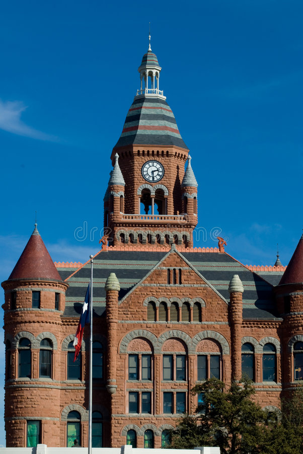 Old Red Courthouse royalty free stock photo
