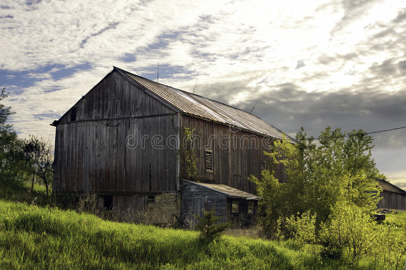 Old Red Dairy Barn Royalty Free Stock Images
