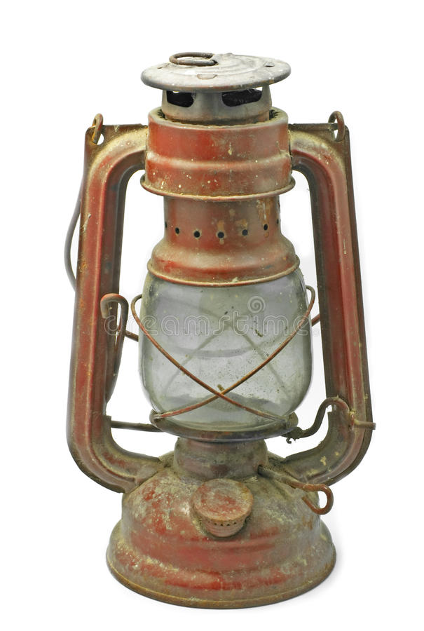 Free Old Red Lamp Royalty Free Stock Photography - 20407657