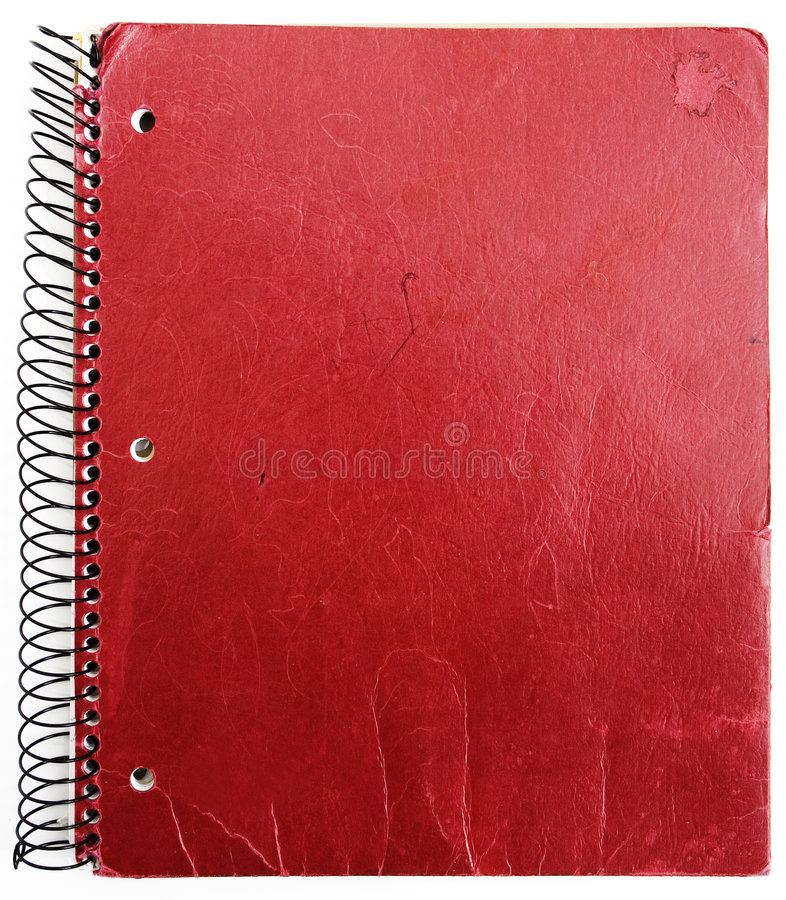 Free Old Red Notebook Royalty Free Stock Image - 3909386