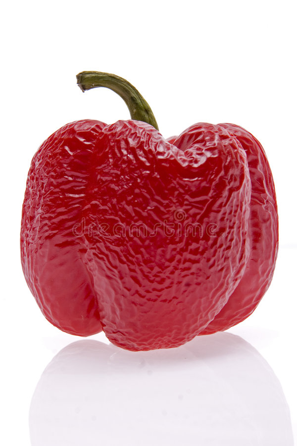 Free Old Red Pepper Royalty Free Stock Image - 8150386