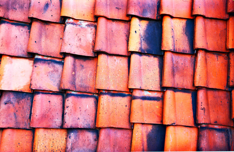 Download Old red tile stock photo. Image of germany, exterior - 26436088