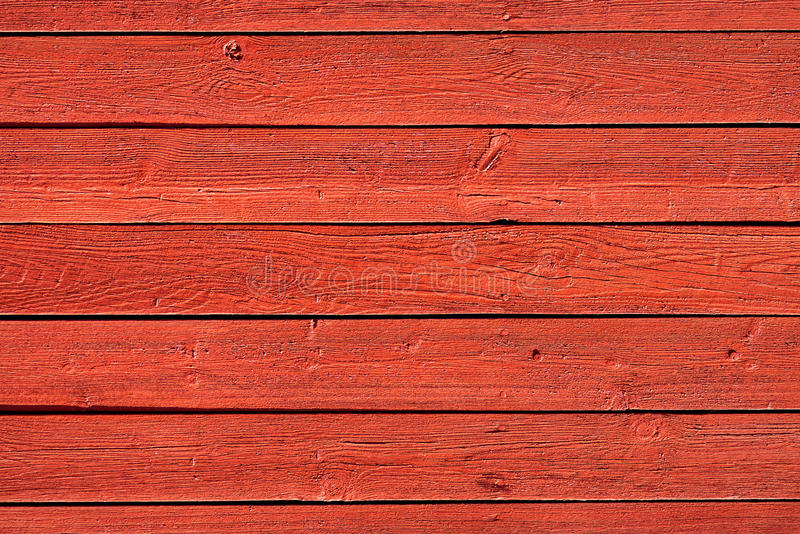 Old red wood panels royalty free stock photo