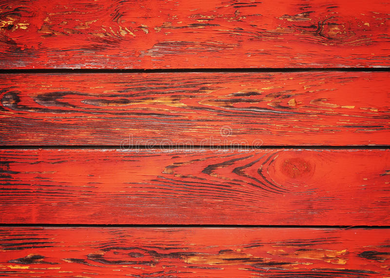 Old red wooden background royalty free stock photography
